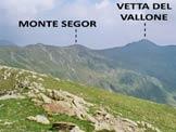 Via Normale Monte Garzirola - Mottone della Tappa - La cresta fra il Monte Garzirola e la Vetta del Vallone