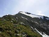 Via Normale Monte Cardinello - All'inizio della cresta WSW