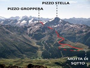 Via Normale Pizzo Groppera