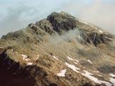 Via Normale Pizzo Màter - A sinistra la cresta meridionale del Màter