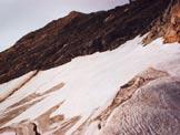 Via Normale Pizzo Suretta (cresta NNE) - Sul Surettagletscher, poco oltre il Surettajoch