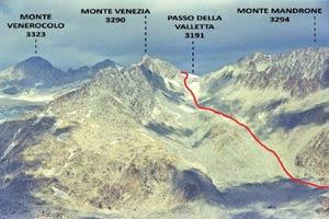 Via Normale Monte Venezia