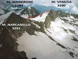 Via Normale Monte Venezia - Il Monte Venezia da W