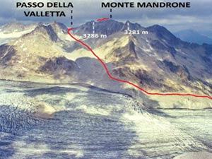 Via Normale Monte Mandrone