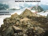 Via Normale Monte Mandrone - Il Monte Mandrone da WSW