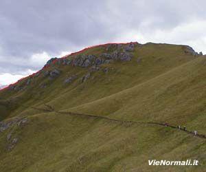 Via Normale Col de Cuch