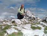 Via Normale Monte Altissimo - Giuseppe sul Monte Altissimo