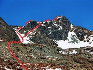 Via Normale Monte Braccia