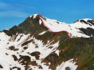 Via Normale Monte Caldenno