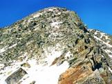 Via Normale Monte Combolo - L'ultimo tratto di cresta SE