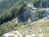 Via Normale Monte Forato - Cima Nord - Il caratteristico Foro visto dalla Vetta Nord del Forato