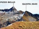 Via Normale Cima Vignone - Panorama dalla vetta, verso E