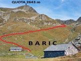 Via Normale Pizzo Bello - Il Pizzo Bello non si vede, si trova dietro la (q. 2643 m)