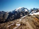 Via Normale Monte Scorluzzo - Filone del Mot - L'Ortles dalla vetta