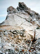 Via Normale Punta del Naso (Nagler-Spitze) - Lungo la cresta