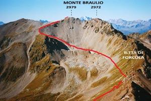 Via Normale Monte Braulio