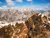Via Normale Monte Braulio - A sinistra il Piz Schumbraida, dalla vetta