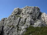 Via Normale Grigna Meridionale (trav.) - In discesa, sul sentiero della Cresta Sinigaglia