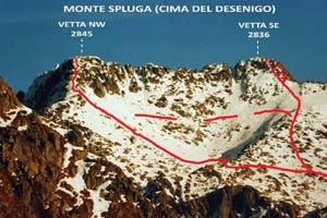 Via Normale Monte Spluga