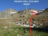 Via Normale Monte Spluga - Il passo non si vede, rimane nascosto dietro il risalto roccioso