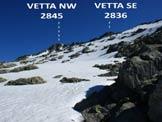 Via Normale Monte Spluga - Dal Passo del Colino