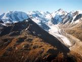 Via Normale Piz Albris - Il Gruppo del Bernina, dalla vetta