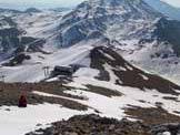 Via Normale Monte Miletto - Veduta sul versante E