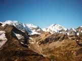 Via Normale Piz Lagalb - Il Gruppo del Bernina dal Piz Lagalb
