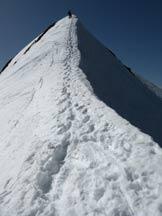 Via Normale Cima dei Siltri - Lungo la cresta di salita