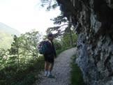 Via Normale Monte Cas - Sentiero