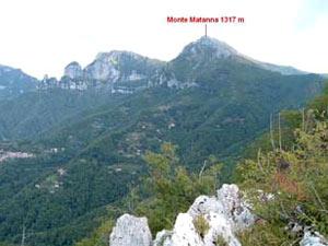 Via Normale Monte Matanna