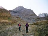Via Normale Gletscherhorn - Al centro il Gletscherhorn, dall'itinerario di salita