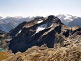 Via Normale Gletscherhorn - Il Piz Duan, dalla vetta del Gletscherhorn