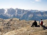 Via Normale Gletscherhorn - La catena Masino-Bregaglia, dalla vetta