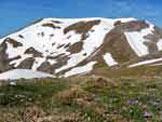 Via Normale Monte del Papa - Il versante orientale della montagna