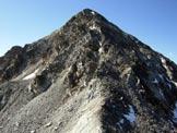 Via Normale Fl�ela-Wisshorn - La cresta NE, dalla (q. 2941 m)