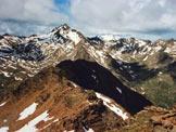Via Normale Punta di Ercavallo - Il Corno dei Tre Signori, dalla vetta