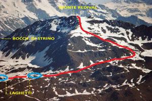 Via Normale Monte Redival