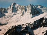 Via Normale Monte Redival - Il Gruppo della Presanella, dalla vetta (immagine ravvicinata)