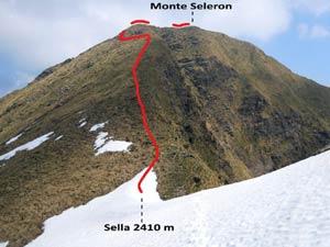 Via Normale Monte Seleron