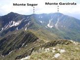Via Normale Camogh� - Il Monte Segor e la Garzirola, dal Camogh�