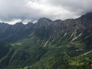 Via Normale Monte Gramolon - Via ferrata Viali-Ferrari