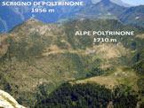 Via Normale Scrigno di Poltrinone - Immagine ravvicinata ripresa dal Camoghè