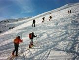 Via Normale Stotzigen Firsten - Sui pendii iniziali
