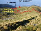 Via Normale Corna Mara - cresta W - Poco sopra il Piano dei Cavalli