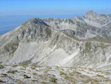 Via Normale Monte Aquila - Da Monte Aquila vista di Monte Portella, Rif. Duca degli Abruzzi, Pizzo Cefalone