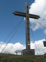 Via Normale Golzentipp - La croce di vetta