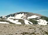 Via Normale Monte Pescofalcone / Pesco Falcone - Il Monte Amaro visto dalla cima