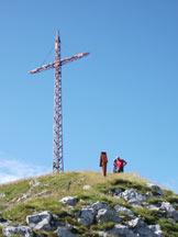 Via Normale Monte Cavallo - La croce di vetta