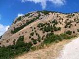 Via Normale Monte Pentime - L´inizio della via di salita